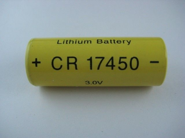 Water Meter Primary CR17450 2000mAh 3.0V Li-mno2 Battery High Stability