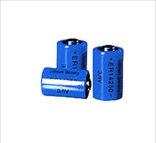 High Discharge Wireless Sensor 1200MAH AA Li-Socl2 Battery 3.6V