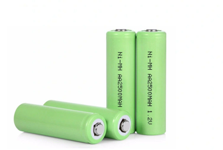 AA2500 2500mAh 1.2V Self Discharge Nimh Battery rechargeable